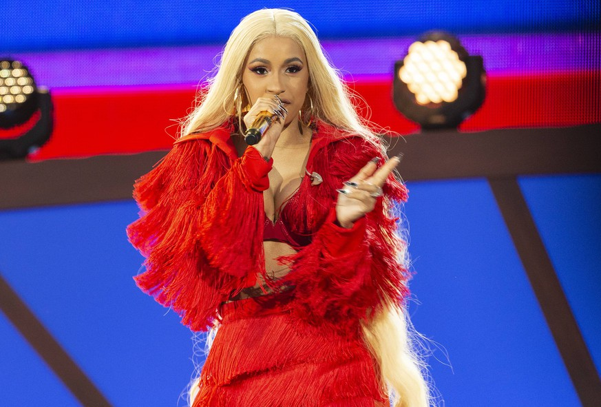 USA: Global Citizen Festival 2018 New York, NY - September 29, 2018: Cardi B performs on stage during 2018 Global Citizen Festival: Be The Generation in Central Park New York New York United States Central Park PUBLICATIONxINxGERxSUIxAUTxONLY LevxRadin