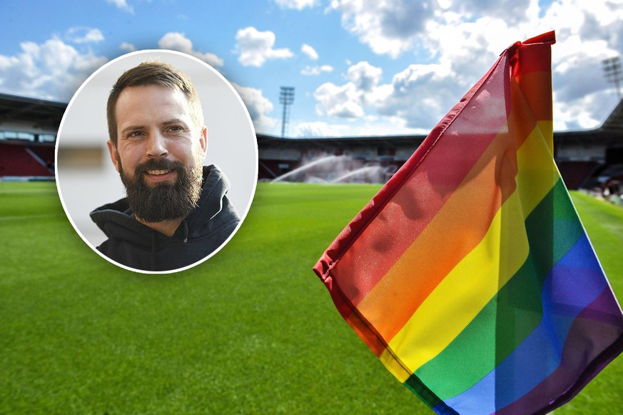 Doncaster Rovers Keepmoat Stadium with rainbow flags in support for Doncaster Pride during the Sky Bet League 1 match between Doncaster Rovers and Fleetwood Town at the Keepmoat Stadium, Doncaster, England on 17 August 2019. PUBLICATIONxNOTxINxUK Copyright: xStephenxBuckleyx PMI-2982-0001