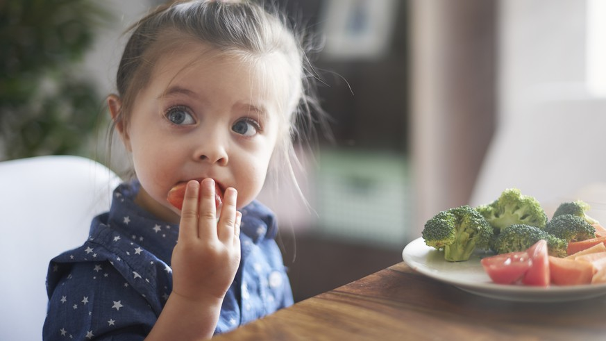Eating vegetables by child make them healthier