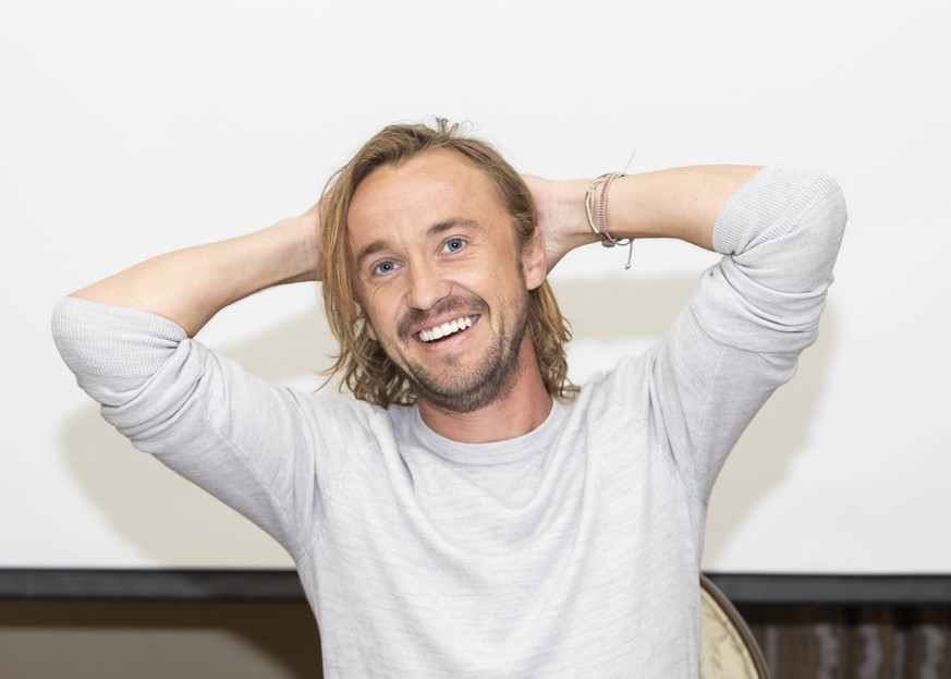 October 24, 2018 - Hollywood, California, U.S. - TOM FELTON promotes the TV series Origin in Hollywood. Hollywood U.S. *** October 24 2018 Hollywood California U S TOM FELTON promotes the TV series Origin in Hollywood Hollywood U S PUBLICATIONxINxGERxSUIxAUTxONLY - ZUMAg203 20181024_zap_g203_110 Copyright: xArmandoxGallox