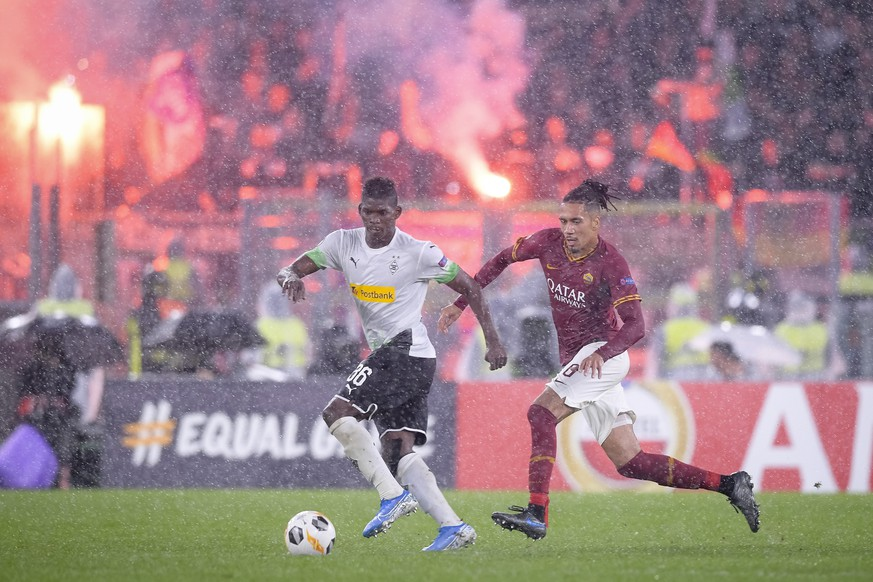 Photo Fabio Rossi/AS Roma/LaPresse 24/10/2019 Rome Italy Soccer Roma-Borussia Moenchengladbach Europa League 2019/2020 - Olimpic Stadium In the pic: Chris Smalling PUBLICATIONxINxGERxSUIxAUTxONLY Copyright: xFabioxRossi/ASxRoma/LaPresse LaPx