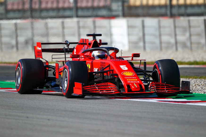 vettel during Pre-season Testing 2020, Formula 1 Championship in Barcellona Spain, Italy, February 28 2020 PUBLICATIONxINxGERxSUIxAUTxONLY Copyright: xLM/AlessioxDexMarcox/xIPAx/xLivexMediax 0