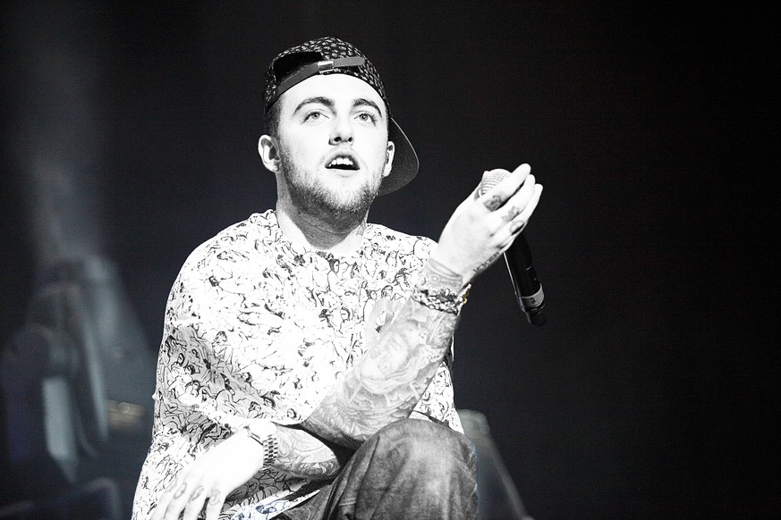 Mac Miller performs at Sussquehanna Bank Center in Camden, New Jersey on August 3, 2012 © Star Shooter / MediaPunchInc PUBLICATIONxINxGERxSUIxAUTxONLY Copyright: x©xStarxShooterx