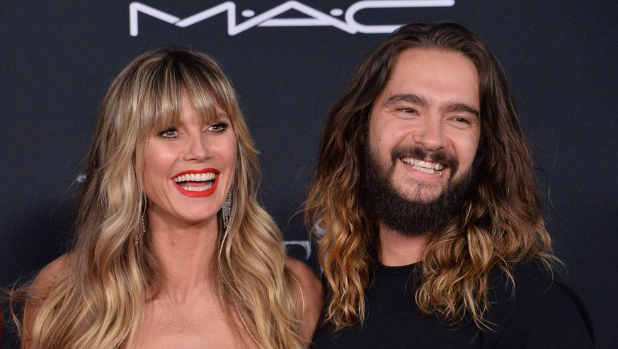Model, television personality and actress Heidi Klum and her husband, German guitarist Tom Kaulitz attend the premiere of the motion picture fantasy Maleficent: Mistress of Evil at the El Capitan Theatre in the Hollywood section of Los Angeles on Monday, September 30, 2019. Storyline: Maleficent and her goddaughter Aurora begin to question the complex family ties that bind them as they are pulled in different directions by impending nuptials, unexpected allies, and dark new forces at play. PUBLICATIONxINxGERxSUIxAUTxHUNxONLY LAP2019093045 JIMxRUYMEN