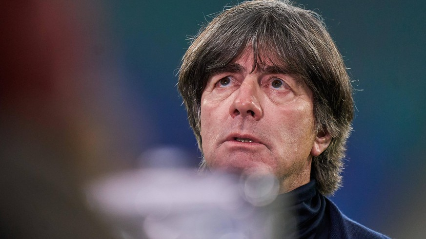 DFB headcoach Joachim Jogi LOEW, LÖW, in the match GERMANY - UKRAINE UEFA Nations League, German Football Nationalteam, DFB , Season 2020/2021 in Leipzig, Germany, November 14, 2020